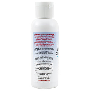 Premium Reduced Liposomal Glutathione (4oz) - The Body's Master Antioxidant
