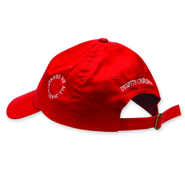 ICON BALL CAP || SANGRE RED