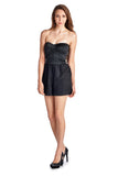 Urban Love Strapless Romper - WholesaleClothingDeals - 2