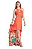 Ignite Embellished High Low Evening Gown - WholesaleClothingDeals - 1