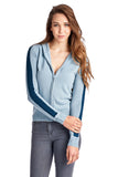 Coolwear Sweater Knit Zip Up Hoody - WholesaleClothingDeals - 1