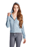 Coolwear Sweater Knit Zip Up Hoody - WholesaleClothingDeals - 3