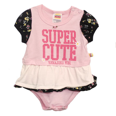 Harajuku Super Cute Pink/White Onesie - WholesaleClothingDeals