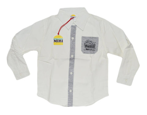 Harajuku White Dress Shirt - WholesaleClothingDeals