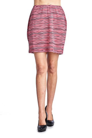 Urban Love Printed Skirt - WholesaleClothingDeals - 1