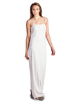Roberta Pearl Detail Spaghetti Evening Gown - WholesaleClothingDeals - 2