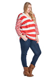 Christine V Plus Long Sleeve V-Neck Top - WholesaleClothingDeals - 3