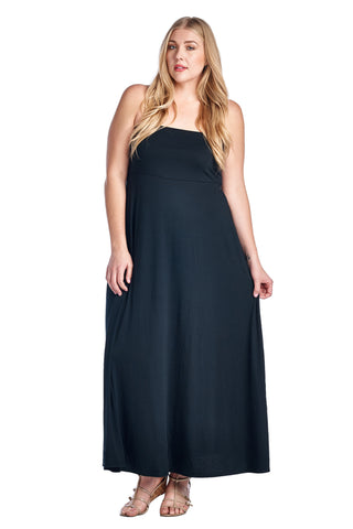 Christine V Plus Strapless Maxi Dress - WholesaleClothingDeals - 1