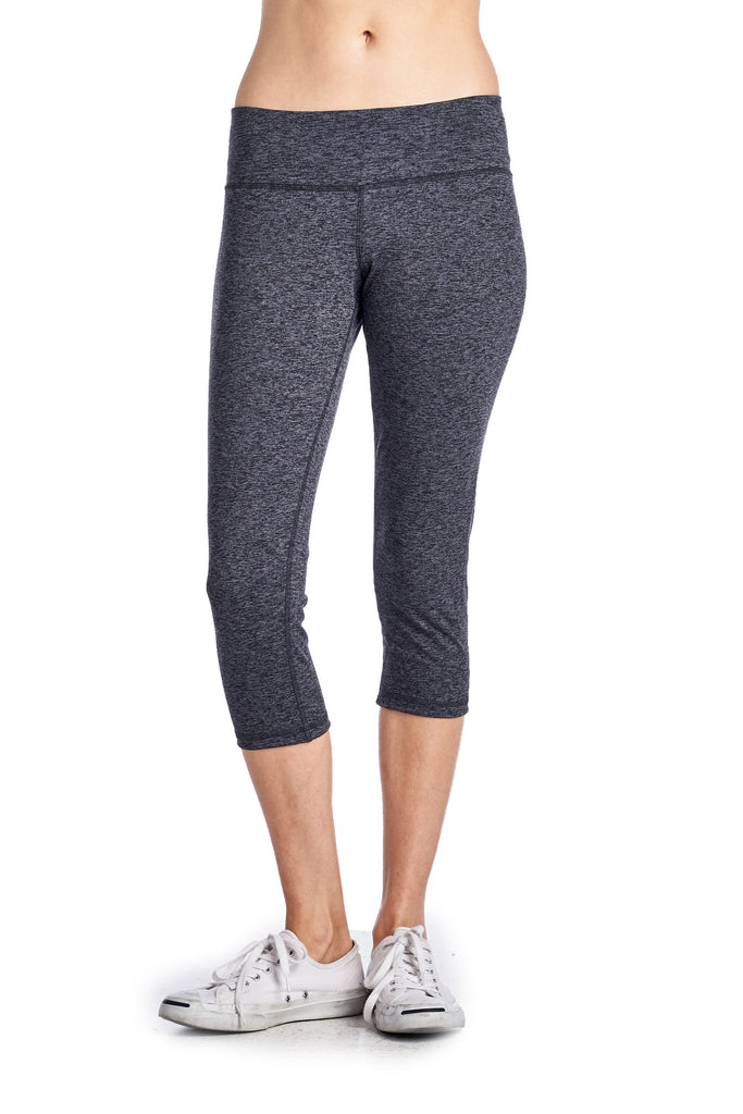 Comfort Zone Yoga Active Capri - WholesaleClothingDeals - 1
