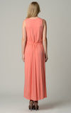 Christine V Tie Waist Maxi Dress - WholesaleClothingDeals - 12