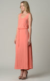 Christine V Tie Waist Maxi Dress - WholesaleClothingDeals - 11