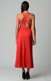 Christine V Halter Maxi Dress with Cross Back Straps - WholesaleClothingDeals - 7