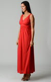 Christine V Empire Waist Maxi Dress - WholesaleClothingDeals - 22
