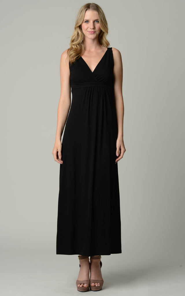 Christine V Empire Waist Maxi Dress - WholesaleClothingDeals - 5