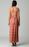 Christine V Strapless Wide Stripe Maxi Dress - WholesaleClothingDeals - 4