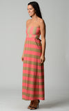 Christine V Strapless Wide Stripe Maxi Dress - WholesaleClothingDeals - 2