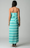 Christine V Strapless Wide Stripe Maxi Dress - WholesaleClothingDeals - 7