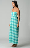 Christine V Strapless Wide Stripe Maxi Dress - WholesaleClothingDeals - 6