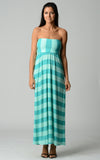 Christine V Strapless Wide Stripe Maxi Dress - WholesaleClothingDeals - 3