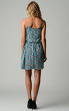 Christine V Printed Chiffon Blouson Dress - WholesaleClothingDeals - 3