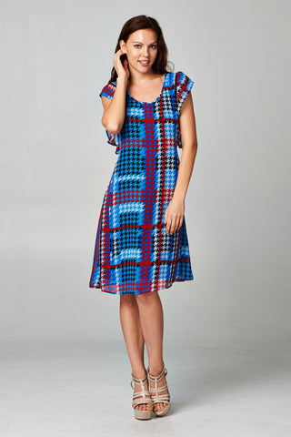 Christine V  Printed Dress - WholesaleClothingDeals - 1