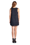Urban Love Sleeveless Short Dress with Lace Detail - WholesaleClothingDeals - 3