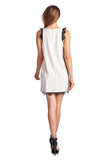 Urban Love Sleeveless Short Dress with Lace Detail - WholesaleClothingDeals - 6