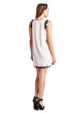 Urban Love Sleeveless Short Dress with Lace Detail - WholesaleClothingDeals - 5