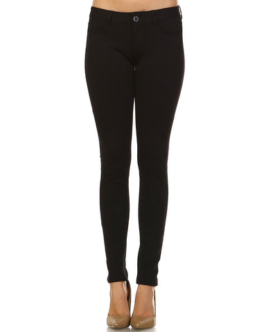 Marcelle Margaux Stretch Ponte Pants - WholesaleClothingDeals - 1