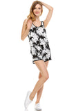 Urban Love Tropical Print RacerBack Sleeveless Romper - WholesaleClothingDeals - 9