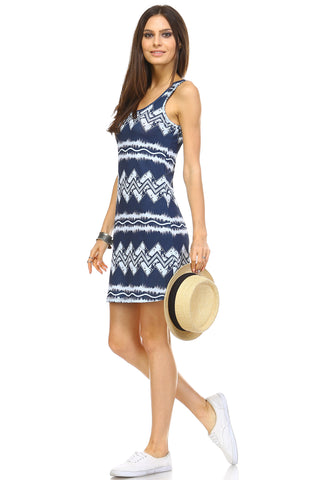 Urban Love Printed Mini Dress - WholesaleClothingDeals - 9