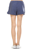 Urban Love Comfy Elastic Band and Tie Waistline Shorts with Pockets - WholesaleClothingDeals - 3