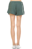 Urban Love Comfy Elastic Band and Tie Waistline Shorts with Pockets - WholesaleClothingDeals - 6