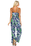 Marcelle Margaux Sleeveless Elastic Waistline Printed Jumpsuit - WholesaleClothingDeals - 8