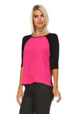 Marcelle Margaux Side Zipper Detail Top -  - 2