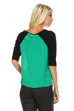 Marcelle Margaux Side Zipper Detail Top -  - 7