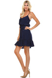 Marcelle Margaux Ruffle Detail Sleeveless Midi Dress - WholesaleClothingDeals - 7