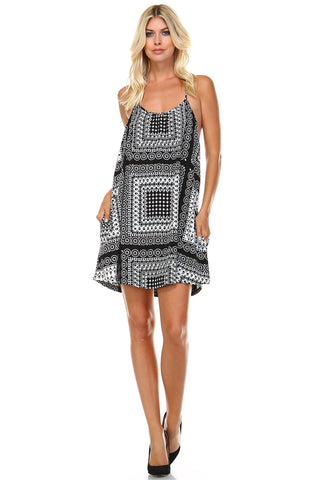 Marcelle Margaux Spaghetti-Strap Swing Dress - WholesaleClothingDeals - 1