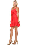 Marcelle Margaux Ruffle Detail Sleeveless Midi Dress - WholesaleClothingDeals - 3