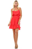 Marcelle Margaux Ruffle Detail Sleeveless Midi Dress - WholesaleClothingDeals - 2