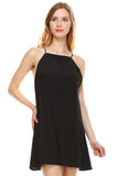 Urban Love Square Neck Chiffon Romper - WholesaleClothingDeals - 10