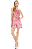 Urban Love Square Neck Chiffon Romper - WholesaleClothingDeals - 5