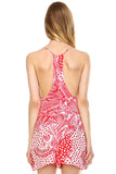 Urban Love Square Neck Chiffon Romper - WholesaleClothingDeals - 8