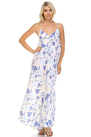 Marcelle Margaux Printed Maxi Tank Dress -  - 1