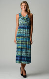 Christine V Ruffle Maxi Dress - WholesaleClothingDeals - 1