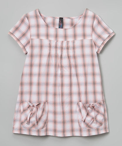 Jojo Belle Girls Plaid Dress - WholesaleClothingDeals