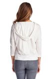 Urban Love Pullover Jersey Hoodie with Contrast Lace Pocket - WholesaleClothingDeals - 4