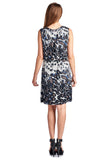 Sharagano Leopard Printed Blouson Dress - WholesaleClothingDeals - 3