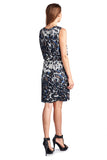 Sharagano Leopard Printed Blouson Dress - WholesaleClothingDeals - 2