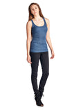 Urban Love Henley Tank with Lurex Thread - WholesaleClothingDeals - 2